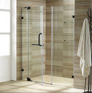 Esfregar Óleo de Banho de chuveiro porta de Bronze