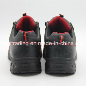 2016 China Mens Puntera de zapatos de seguridad, medio corte Zapatos de minería de datos