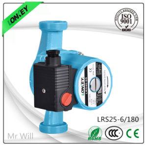 Tres velocidades de 100W de hierro fundido en el hogar: Bomba de circulación de Wilo Lrs25-6S/180