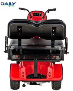 セリウムの二重シートの24V 1500WモーターDm800を搭載する小型電気ゴルフカート