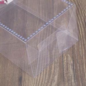 Casella trasparente di imballaggio di plastica del PVC del piccolo regalo all'ingrosso