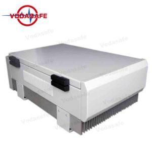 Bloqueio de prisão de alta potência. Controles Scew para ajustar a potência de saída total de 180W Outputpower, Raio de Cobertura 50-100m, de um telemóvel/WI2.4G/Bluetooth