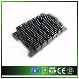 Extrusión de aluminio con Anodize Iron-Gray disipador de calor