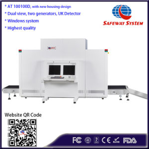 Doppelstrahl-Abtasteinrichtung des ansicht-Röntgenstrahl-Sicherheits-Scanner-X für Gepäck-und Gepäck-Inspektion