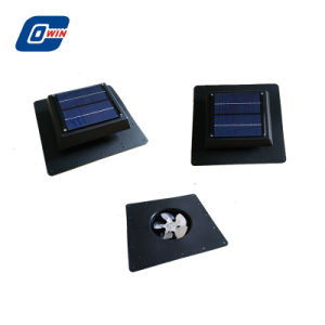 Ventilador Solar de 5 vatios Sistema de ventilación para el hogar