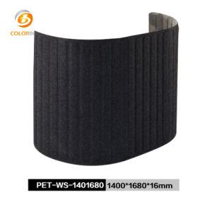 Umweltfreundlicher Polyester-Faser-Büro-Schreibtisch-Partition-Arbeitsplatz