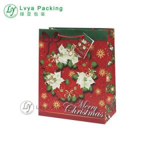 Diseñan bolsa de papel kraft para regalo, ropa de la bolsa de Navidad