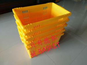 プラスチックの箱または果物かごの射出成形機械か作成機械