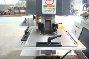 Macchina idraulica dell'operaio del ferro di Q35y 40 per il materiale del metallo