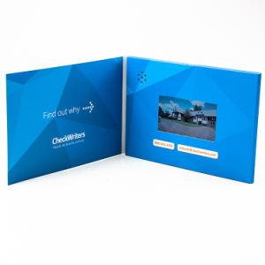Новые поступления бумага открытка USB мультимедиа Media Player звука ЖК-Business Card