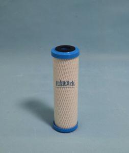 Los filtros de cartucho de bloque de carbono sintetizado