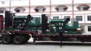 Hauptkapazitäts-Dieselgenerator-Set wassergekühltes Genset der ausgabe-220kw 275kVA