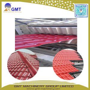Toit vitré ASA en PVC de couleur feuille de plastique de tuiles de toiture Ligne de production de l'extrudeuse