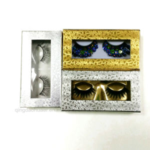مغنطيسيّة مستحضر تجميل عين بنية هدب ورق مقوّى يعبّئ صندوق مع صنع وفقا لطلب الزّبون