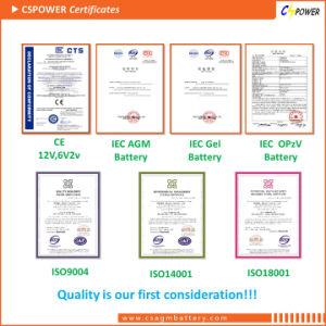 15 años de vida Cspower batería de gel 2V 600AH (GC2-600)