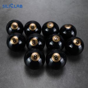 Negro Rojo Frasco de Bola 5+1ml frasco Contenedor de silicona de único cuadro de Malezas DAB