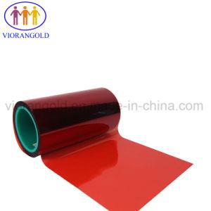 스티커를 위한 25um/36um/50um/75um/100um/125um 투명하거나 또는 파랑 빨강 또는 백색 애완 동물 방출 필름