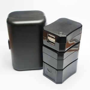 Hot tout-en-Un Mini chargeur de voyage adaptateur de voyage universel