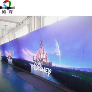 広告するための屋外のフルカラーのカーブP3.91 P4.81レンタルLED表示パネルスクリーン(500*500mm)を