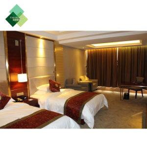Personalização de madeira clássico de estilo antigo hotel de aço inoxidável que fixa os móveis para Quarto Standard