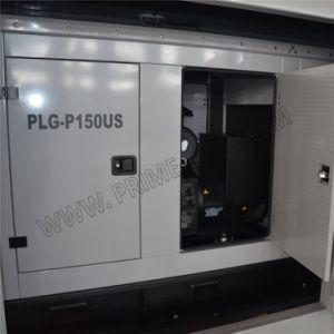 150kVA는 높게 Perkins가 강화한 닫집 유형 매우 침묵하는 디젤 엔진 발전기 세트를 주문을 받아서 만들었다