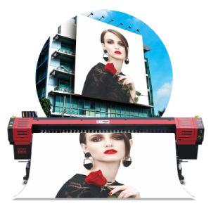 3.2 미터 잉크 제트 Epson 본래 Dx5 Printhead를 가진 큰 체재 인쇄 기계 디지털 Eco 용해력이 있는 인쇄 기계