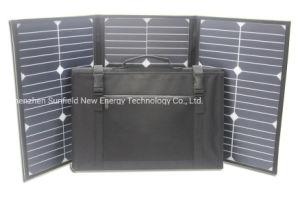 60W 18V 12V Cargador Panel Solar Plegable Portátil para Powerbank, portátiles, teléfonos móviles