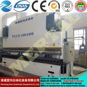 Mertal hydraulische CNC-Presse-Bremsen-Blech-verbiegende Maschine