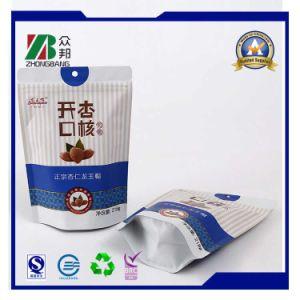 Folha de alumínio plástico Stand up Saco de embalagem para snacks