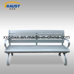 最上質の金属のアルミニウムスラットの庭のベンチ、背部が付いているアルミニウム椅子