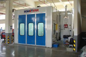 Semi Downdraft Manutenção de cabines de pintura automotiva