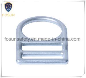 Anello a D saldato della scanalatura del metallo di sicurezza di prodotto della fabbrica singolo