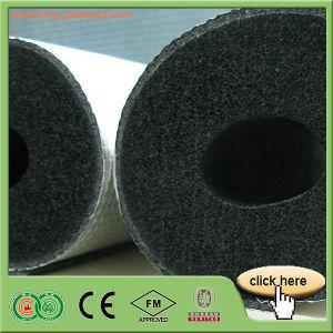 Tubo de Goma Plástico del Aislante de Espuma del PVC NBR (IK-RF06)