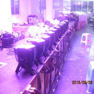 Etapa de interiores 54X3w Ly China a la par de LED de luz UV puede