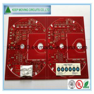 4 Layer PCB multicamada com Soldermask vermelho