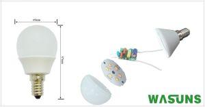 Marcação de homologação RoHS 3W E14 6500k lâmpada LED G45