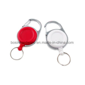 プラスチックCarabiner IDのバッジの巻き枠