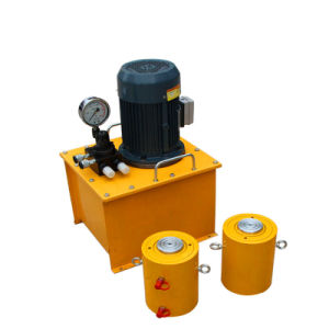 Estructura del cilindro del pistón de elevación de 320 toneladas de cilindro hidráulico de doble efecto
