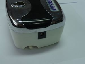 HS08 3ACSkエアブラシの構成のための小型空気圧縮機は0.4mmの針の釘キットをセットした