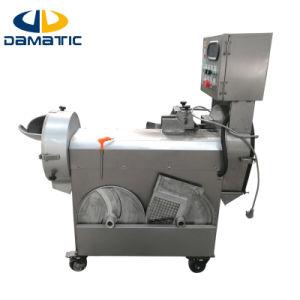 Frutas e Produtos Hortícolas Transformados na máquina/Multiuso na cabeça dupla dos frutos e produtos hortícolas do Picador/Cortador/máquina de corte