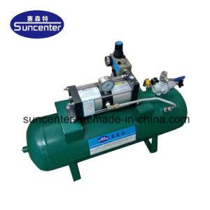 Venta caliente Suncenter Modelo: 10-16 Bar Aire Bomba de cebado de las pruebas de un cilindro neumático