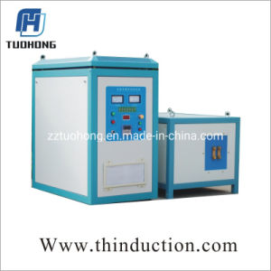 85kw alta freqüência de Tratamento Térmico de Metais forjados de aquecimento por indução a máquina