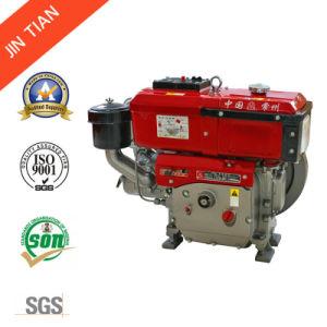 SGS는 승인했다 사용하기 쉬운 디자인 (JR190L)를 가진 물에 의하여 냉각된 디젤 엔진을