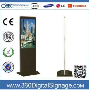 42-дюймовый HD пол тип ЖК-дисплей для использования внутри помещений применение цифровых рекламных плеер с помощью сети 3G/WiFi для коммерческих зданий