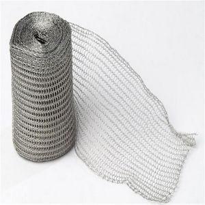 ガス-液体のろ過のための編まれた金網