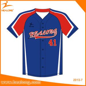Healong自由なデザイン昇華卸売の高品質の安い野球ジャージー