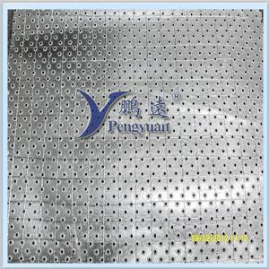 Алюминиевая фольга PP Perforated 2 Ways с Glass Yarn Facing