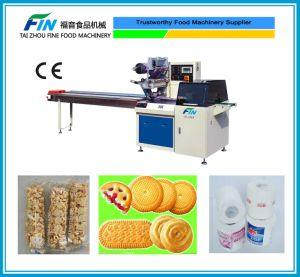 Máquina de embalagem de fluxo para o pão, sabão, embalar alimentos