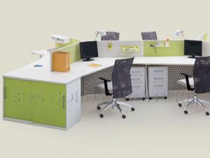 Durable et la couleur personnalisée 120 degré bureau de poste de