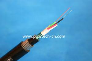 すべての誘電性のSelf-Supporting光学Cable/ADSSは96のファイバーをケーブルで通信する